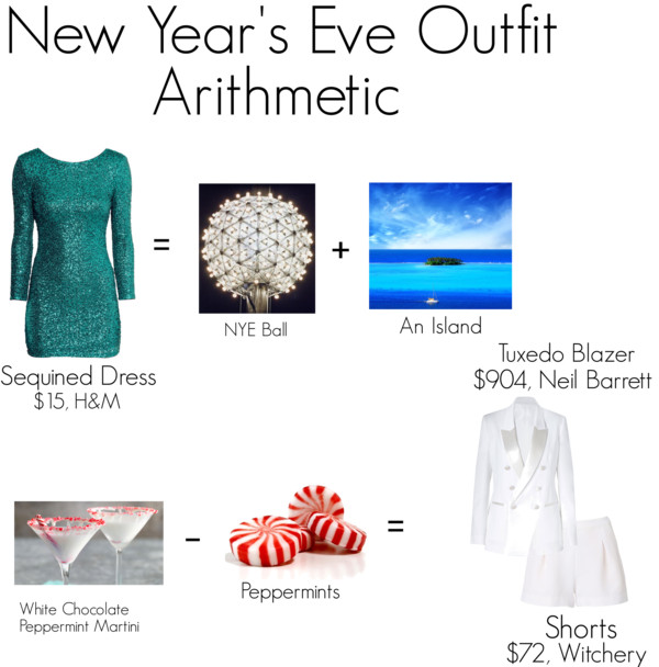 NYE Outfit Arithmetic